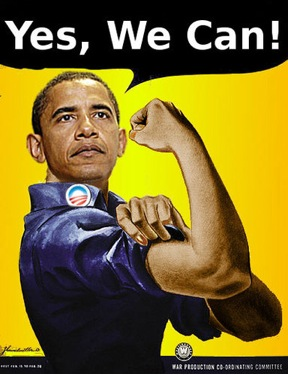 Barrack Obama: Yes, We Can!
