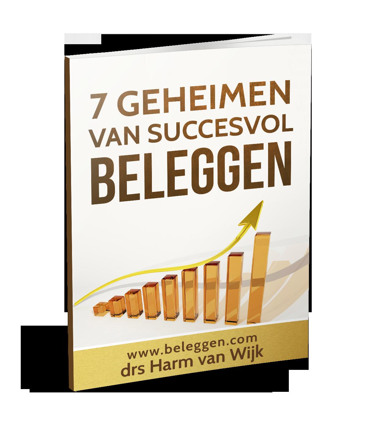 e-book cover 7 geheimen van succesvol beleggen