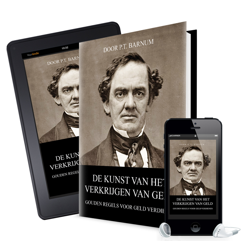 Mock up Barnum-boek-ebook-mp3