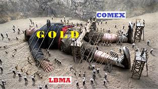 Goud vastgebonden Sprott Gold