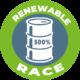 energietransitie renewable-race-button-GREEN-logo