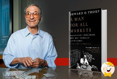 Wat zijn de overeenkomsten met de beurs en het casino Dr. Edward O. Thorp